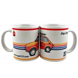 Kubek ceramiczny Fiat 126p,...